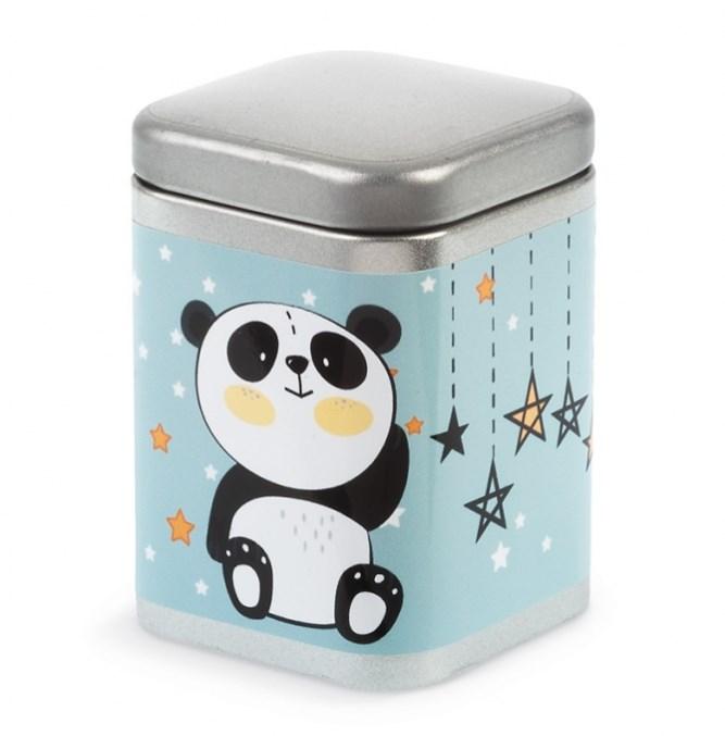 Μεταλλικό κουτί Panda ΜΠΟΜΠΟΝΙΕΡΑ ΒΑΠΤΙΣΗΣ-ΓΑΜΟΥ ΝΕΟ ΣΧΕΔΙΟ 2019