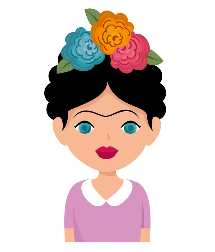 Φρίντα Κάλο Frida Kahlo ΚΑΔΡΑΚΙ ΞΥΛΙΝΟ 11Χ7.5 ΜΠΟΜΠΟΝΙΕΡΑ ΒΑΠΤΙΣΗΣ
