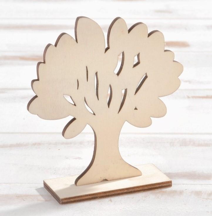 Ξύλινο Δέντρο Ζωής Μπομπονιερα Βαπτισης Οικονομικη