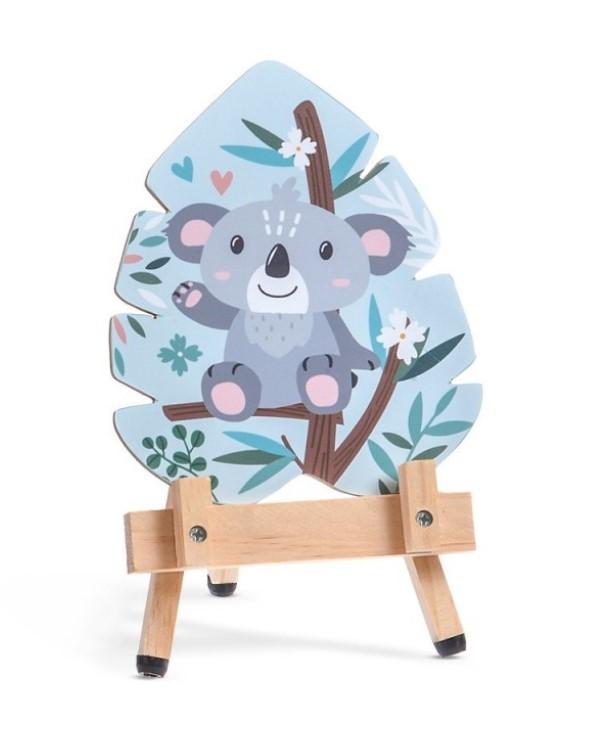 Καβαλέτο Με Καδράκι Koala Μπομπονιερα Βαπτισης Οικονομικη