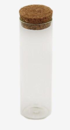 ΓΥΑΛΙΝΟΣ ΔΟΚΙΜΑΣΤΙΚΟΣ ΣΩΛΗΝΑΣ 10x3cm