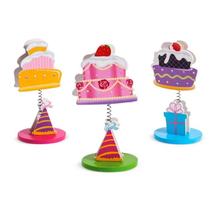 Ξύλινο Μανταλάκι Cupcakes μπομπονιερα βαπτισης