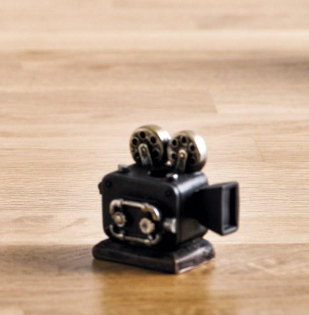 Μολυβοθήκη Κάμερα Ρετρό Μπομπονιερα