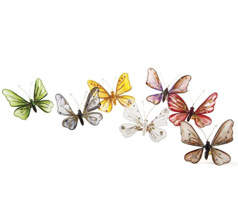 Πεταλούδες με Κλιπ