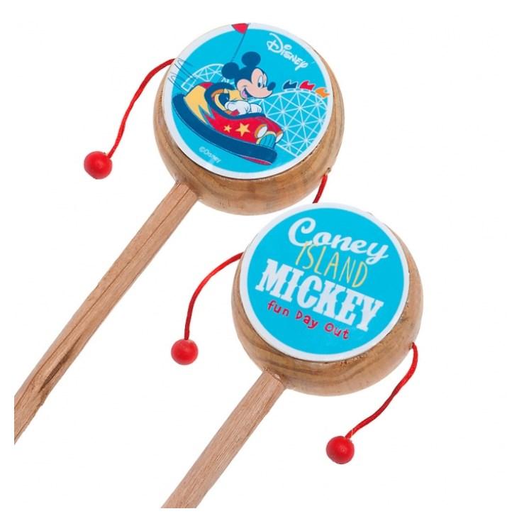 Τυμπανάκι Mickey Fun Day Out ξυλινη μπομπονιερα βαπτισης