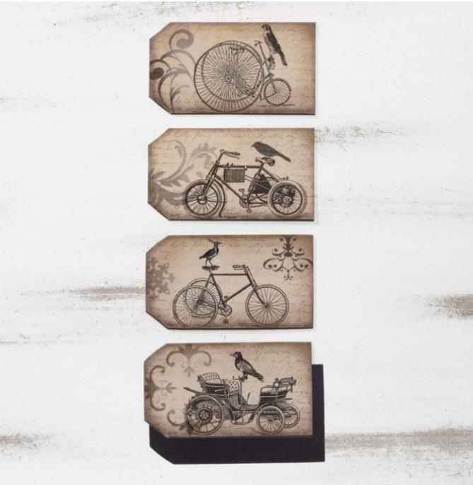 Μαγνητάκια με ποδήλατα ΜΠΟΜΠΟΝΙΕΡΑ ΒΑΠΤΙΣΗΣ