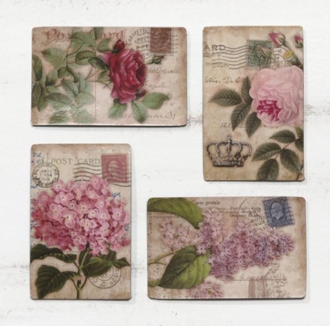 Μαγνητάκια με λουλούδια ΜΠΟΜΠΟΝΙΕΡΑ ΒΑΠΤΙΣΗΣ