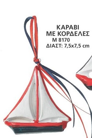 ΚΑΡΑΒΑΚΙ-ΒΑΡΚΟΥΛΑ ΚΕΡΑΜΙΚΟ ΜΠΟΜΠΟΝΙΕΡΑ ΒΑΠΤΙΣΗΣ-ΓΑΜΟΥ